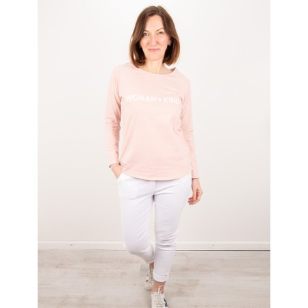 Chalk Tasha Woman Kind Top - Gemini Exclusive! - Pink