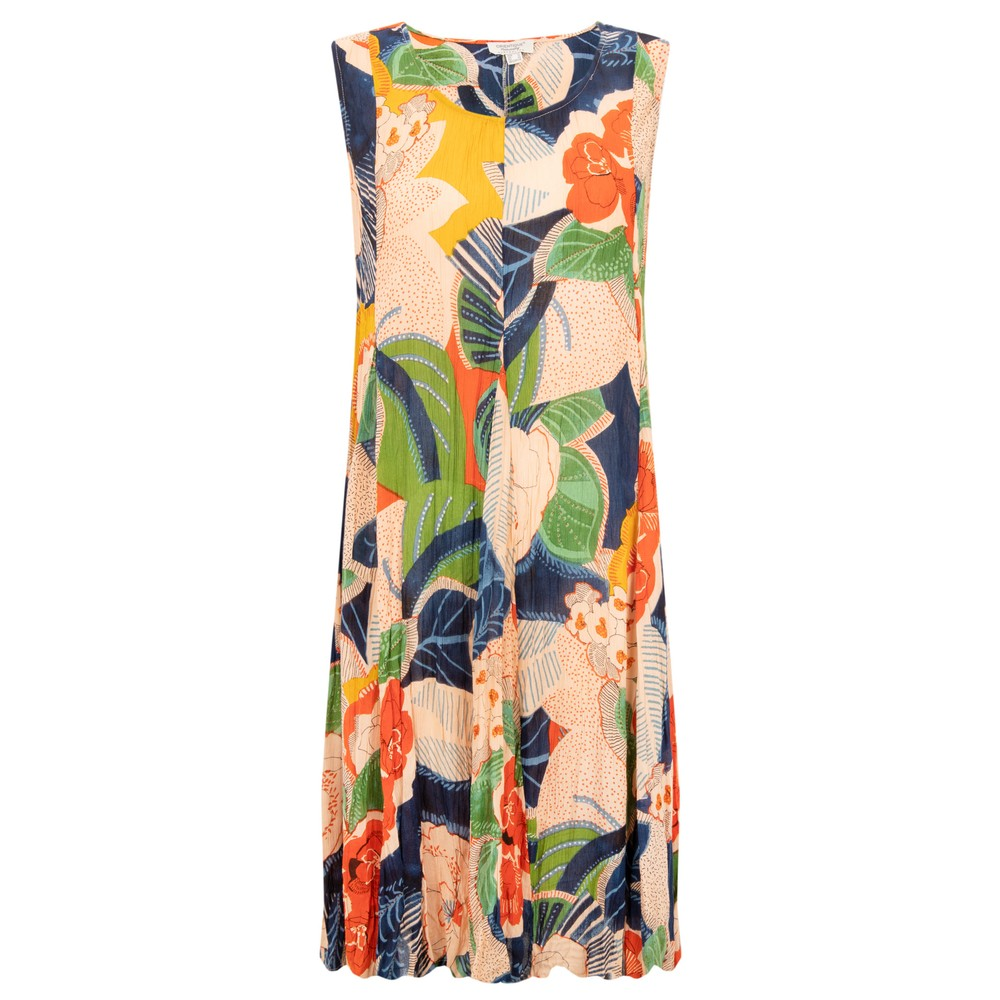 Orientique Costa Brava Sleeveless Dress Bright Multi