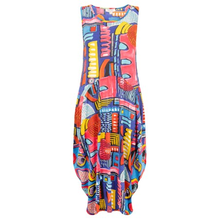 Orientique Catalonia Bubble Dress - Multicoloured