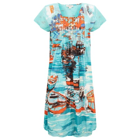 Orientique Certified Organic Dress - Multicoloured