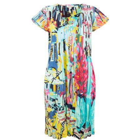 Orientique Certified Organic Dress - Blue