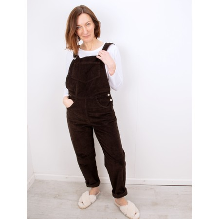 Amazing Woman Daisy Dungaree - Brown