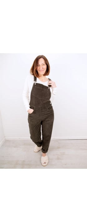 Amazing Woman Daisy Dungaree Olive