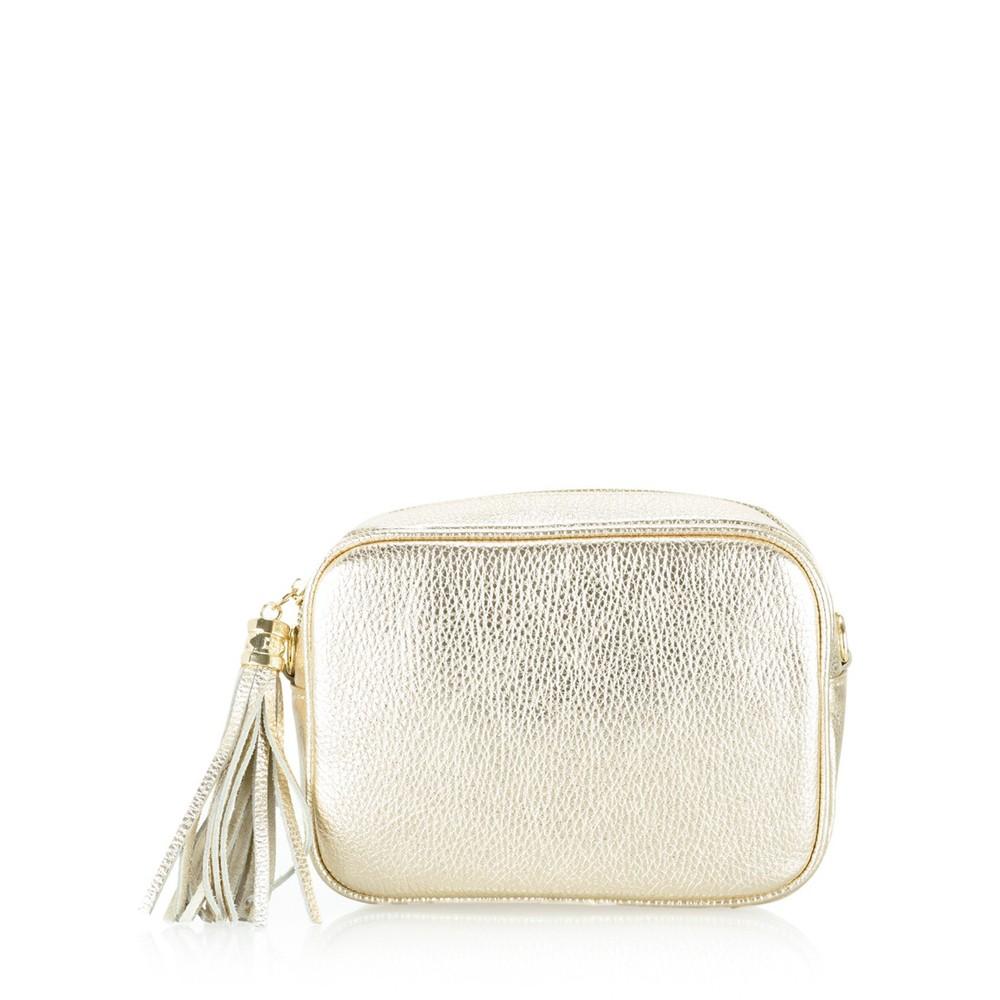 Gemini Label Bags Connie Cross Body Bag Gold