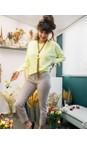 Robell Beige Rose 09 Beige Ankle Length Jacquard Slimfit Trouser
