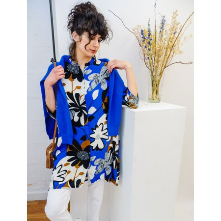 Masai Clothing Iosetta Tunic - Blue