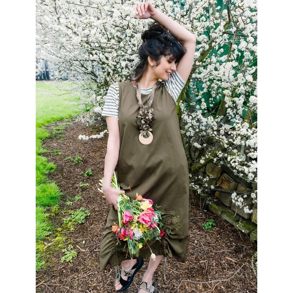Tirelli Adjustable Dress Olive