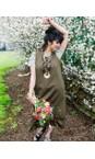 Tirelli Olive Adjustable Dress
