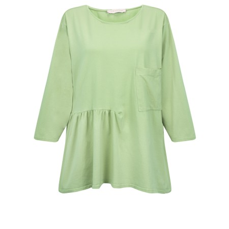 Amazing Woman Bobby Jersey Top - Green