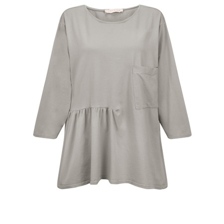 Amazing Woman Bobby Jersey Top - Brown