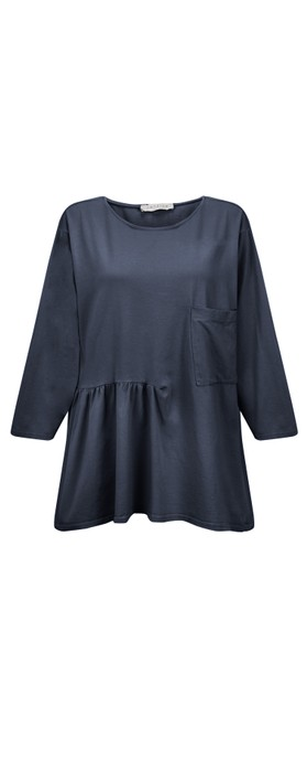 Amazing Woman Bobby Jersey Top Navy