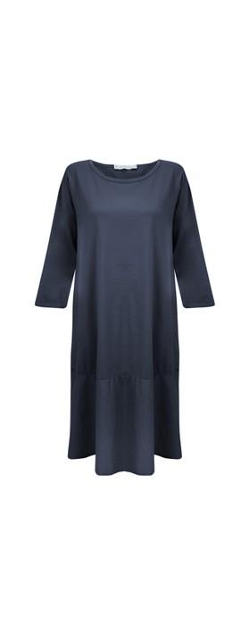 Amazing Woman Beatrix Jersey Dress Navy