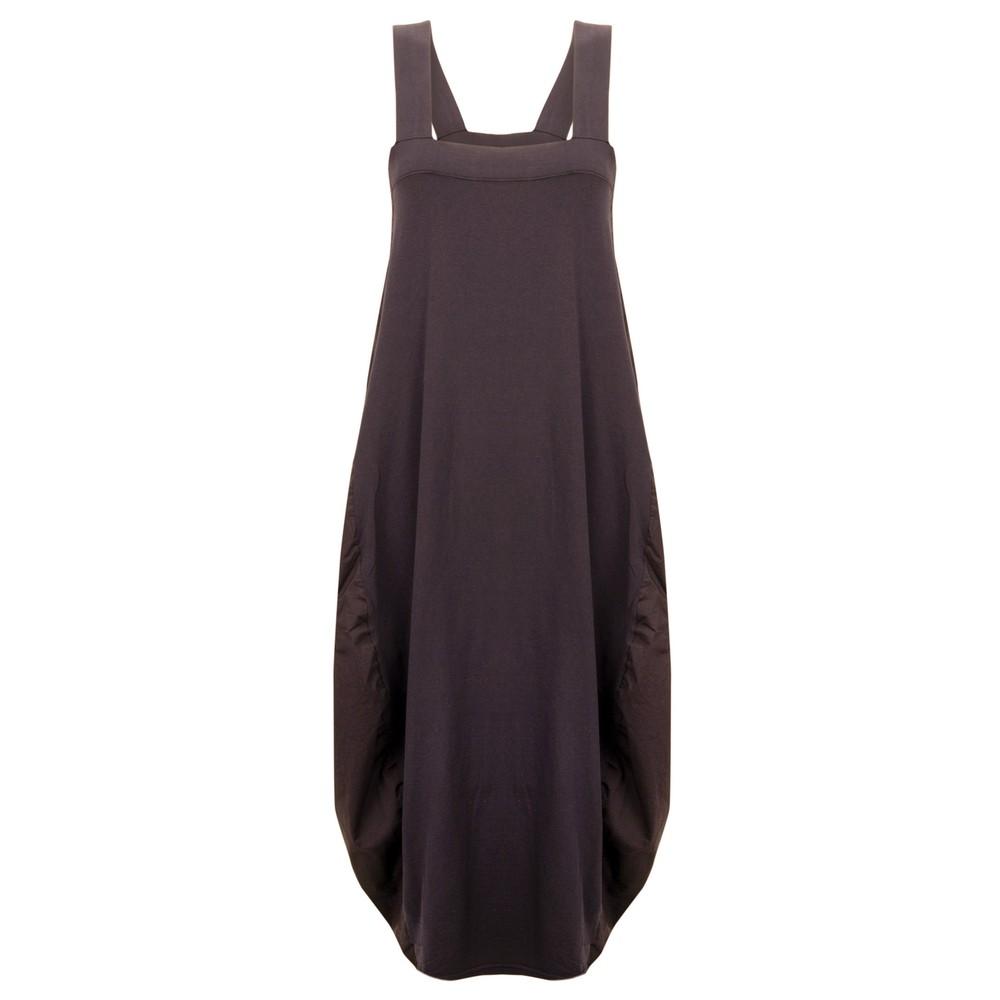 Mama B Amarone Pinafore Dress Vino
