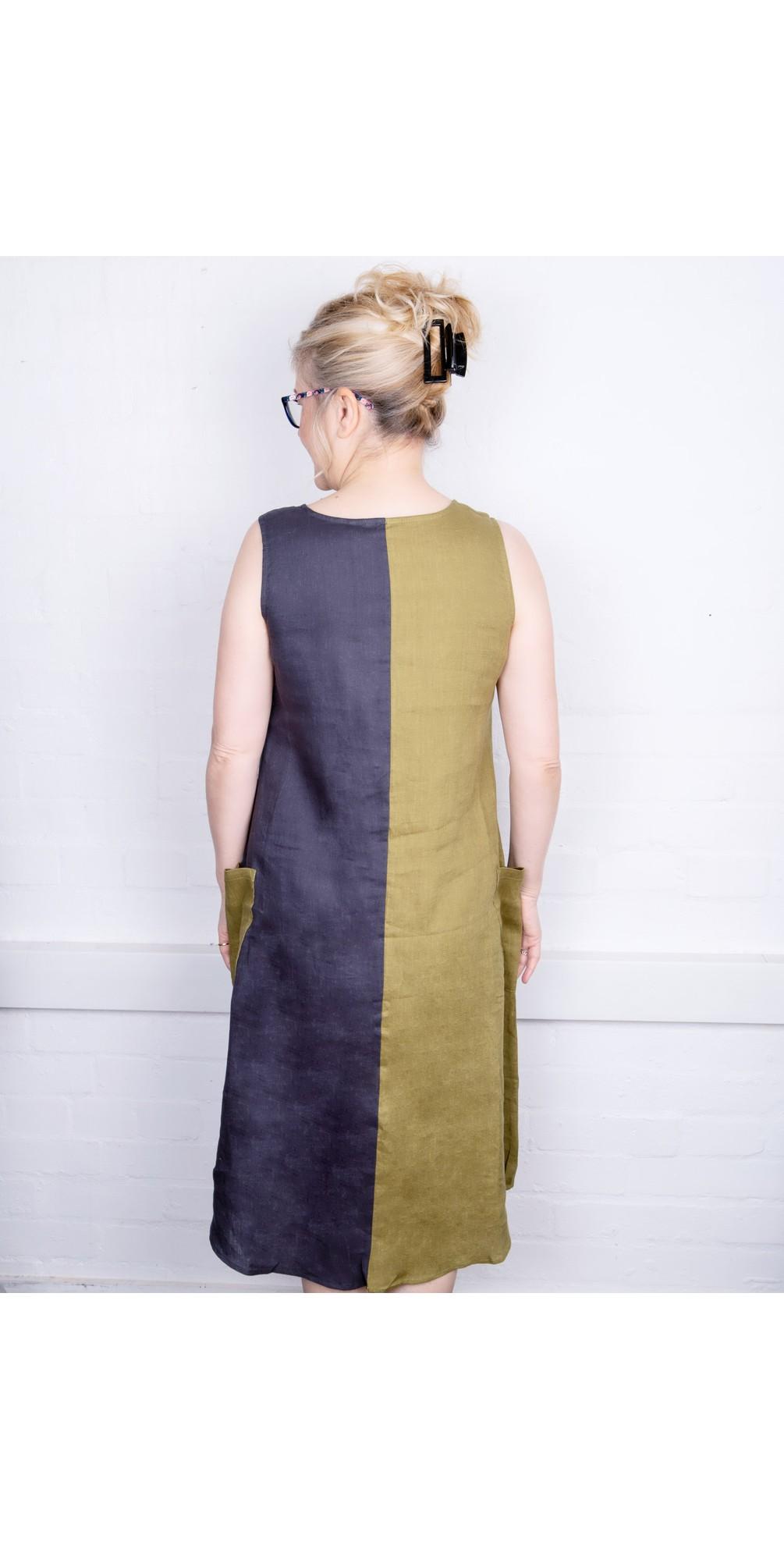 Tetris Colour Block Dress main image