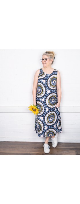 Foil Frill and Grace Dress Sundial Mix