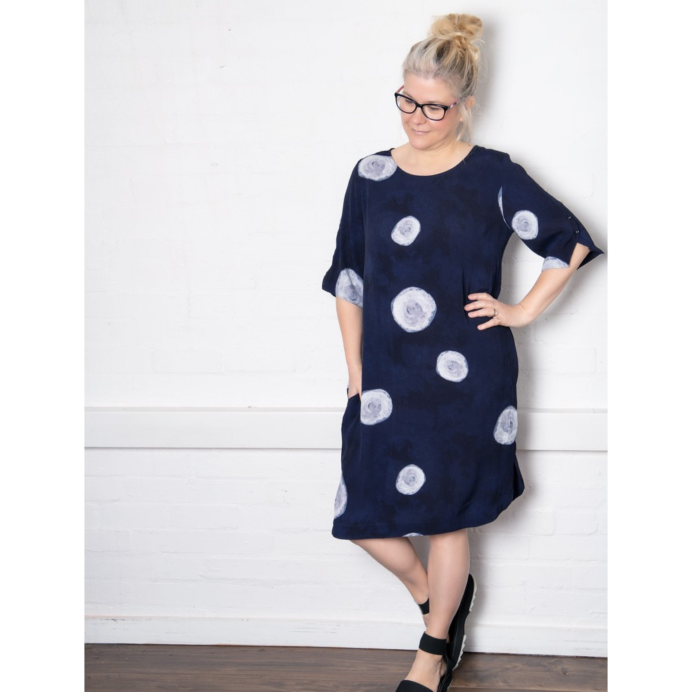 Foil All About The Sleeve Dress Full Moon