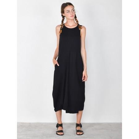 Mama B Barolo Poplin Dress - Black