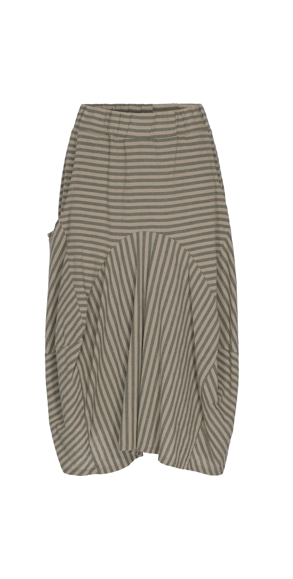 Sara Stripe Skirt main image