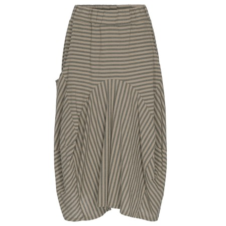 Thing Sara Stripe Skirt - Beige