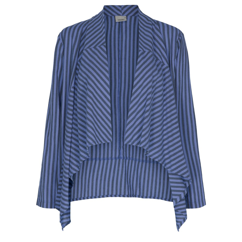Thing Edgie Stripe Jacket Sapphire