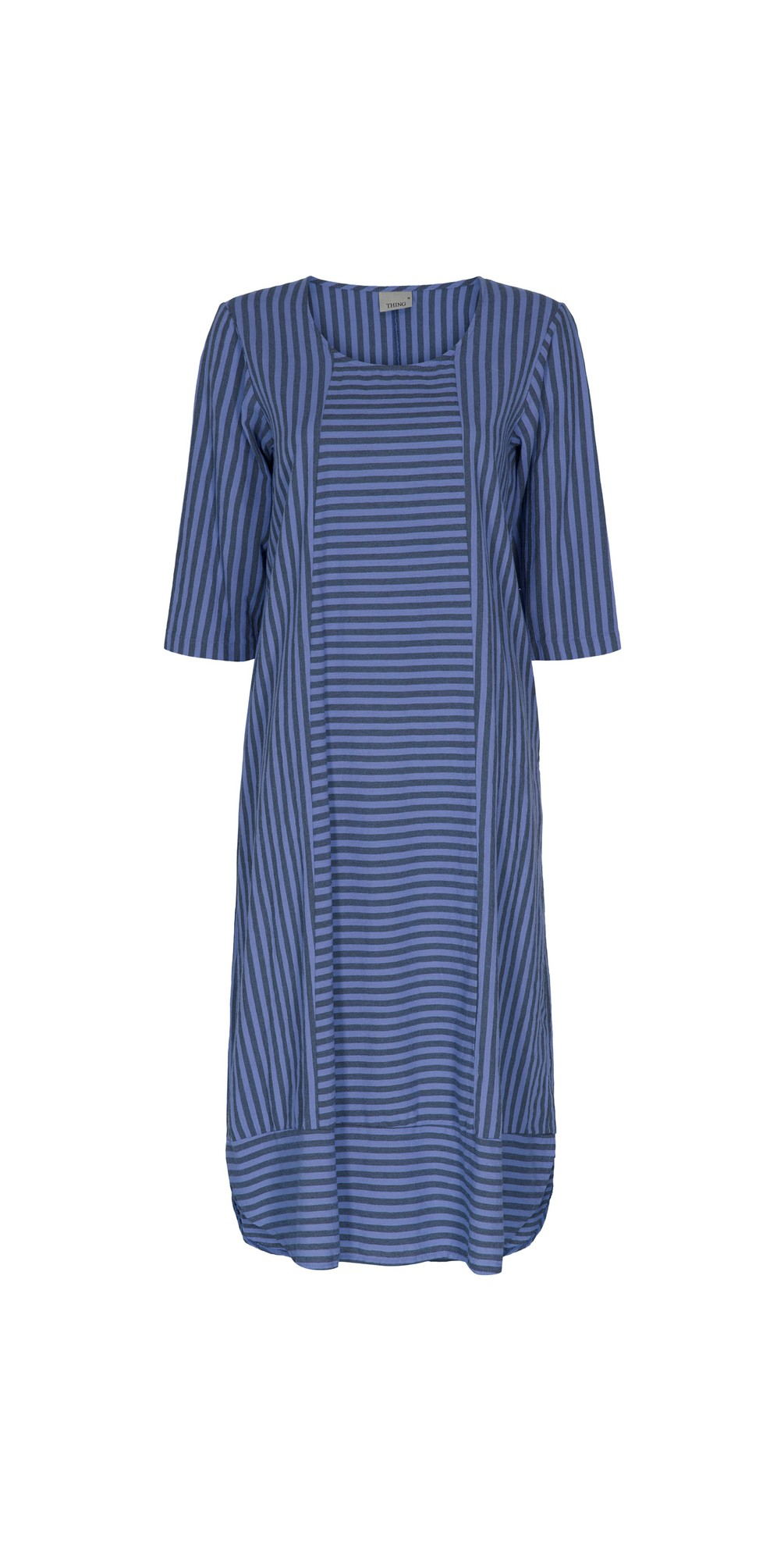 Tani Stripe Pannelled Dress main image