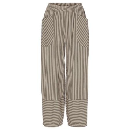 Thing Trina Stripe Trousers - Beige