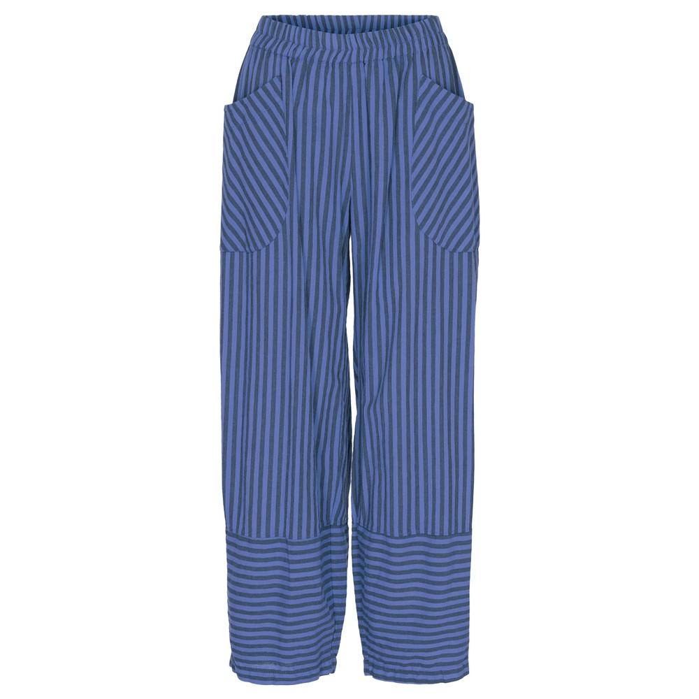 Thing Trina Stripe Trousers Sapphire