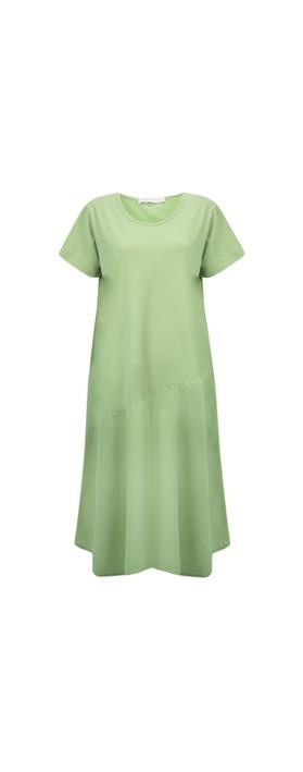 Amazing Woman Brina Jersey Dress Avocado