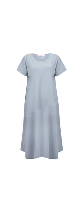 Amazing Woman Brina Jersey Dress Denim