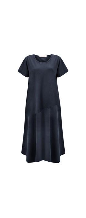 Amazing Woman Brina Jersey Dress Navy