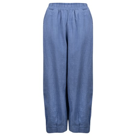 Thing Tyra Linen Trousers - Blue