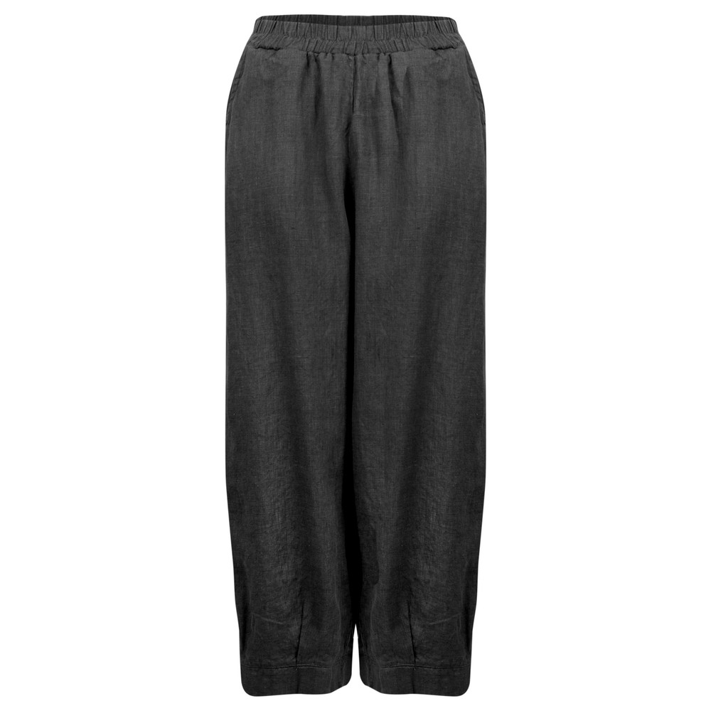 Thing Tyra Linen Trousers Black