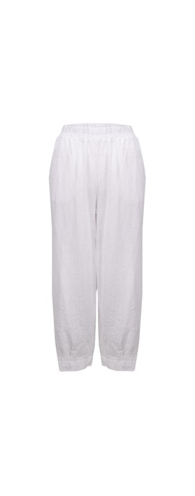 Thing Tyra Linen Trousers White