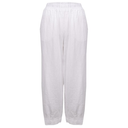Thing Tyra Linen Trousers - White