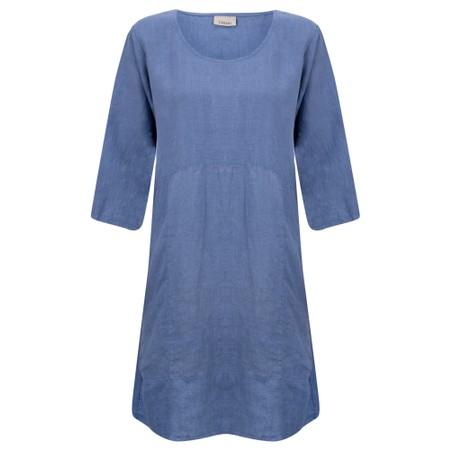 Thing Mira Seamed Linen Tunic - Blue