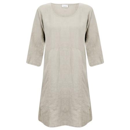 Thing Mira Seamed Linen Tunic - Beige