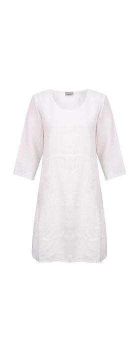 Thing Mira Seamed Linen Tunic White
