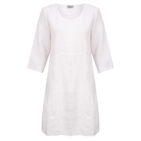 Thing Mira Seamed Linen Tunic - White