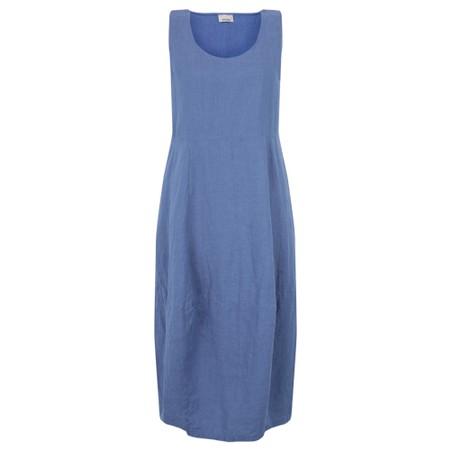 Thing Freya Linen Dress - Blue