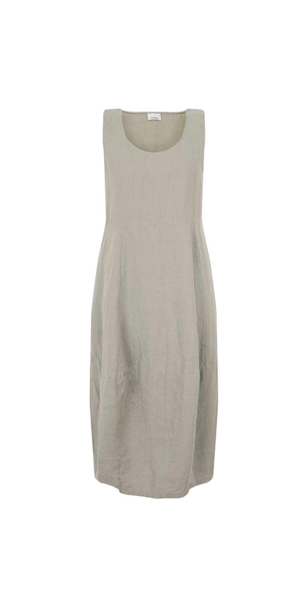 Freya Linen Dress main image