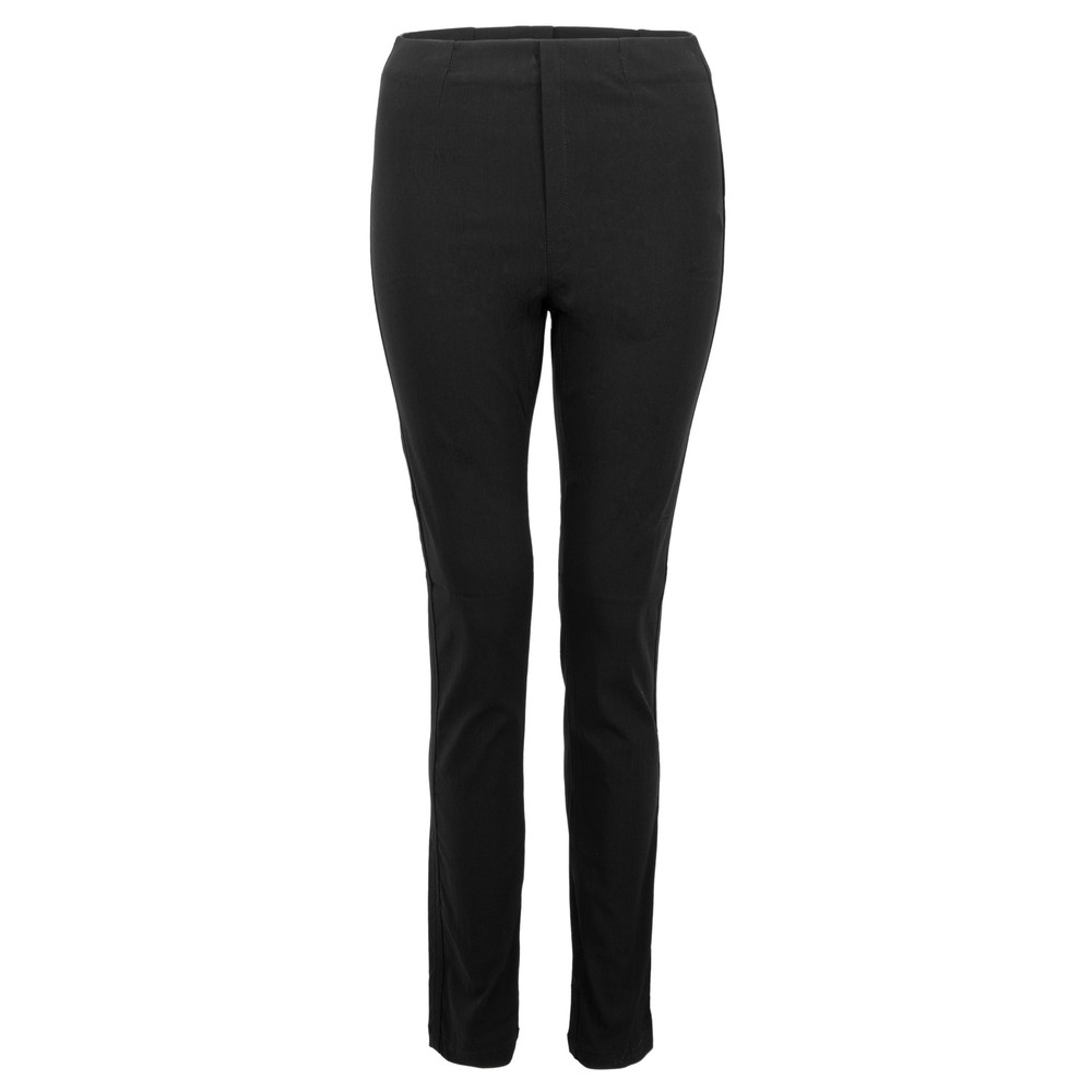 Amazing Woman 08 Piero Seamed Pull Up Trouser Black