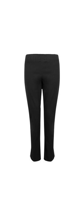 Amazing Woman 28 Piero Seamed Pull Up Trouser Black