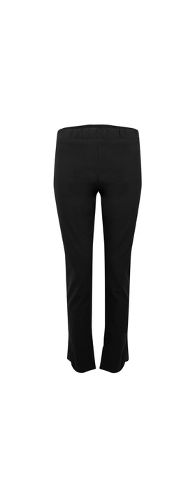 Amazing Woman 30 Piero Seamed Pull Up Trouser Black