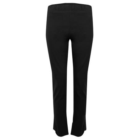 Amazing Woman 30 Piero Seamed Pull Up Trouser - Black