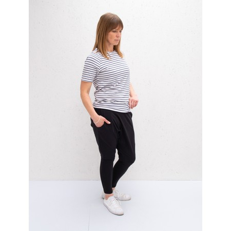 Chalk Darcey Stripe Top - Grey
