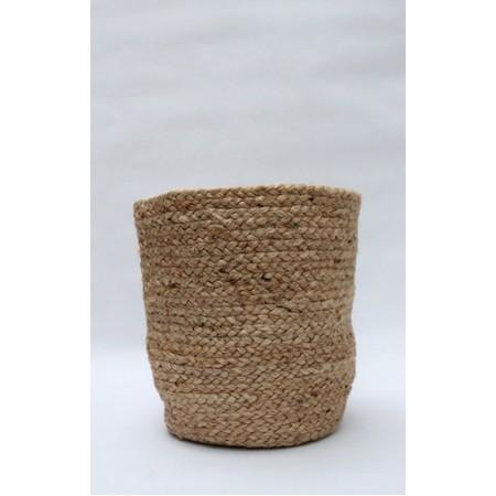 Chalk Home Jute Small Basket - Beige