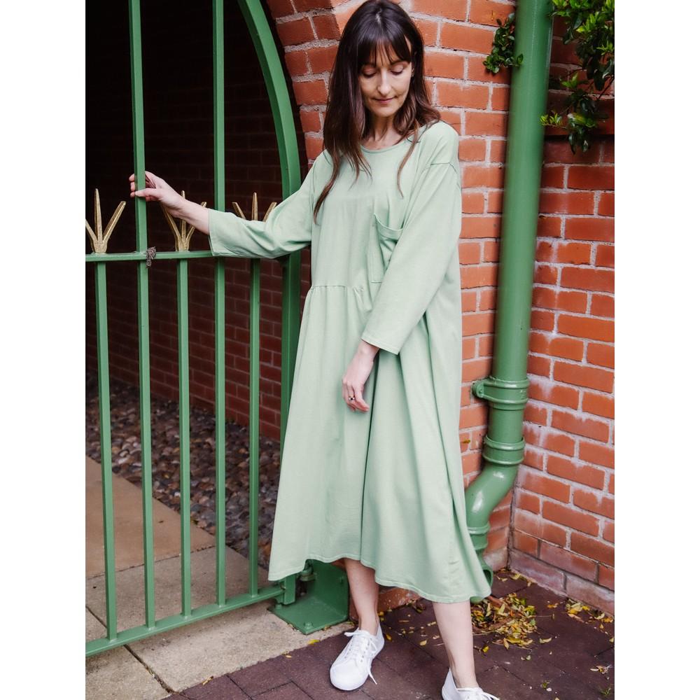 Amazing Woman Bobby Jersey Dress Avocado