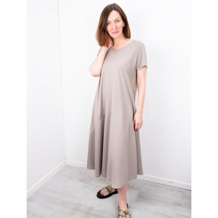 Amazing Woman Brina Jersey Dress - Brown