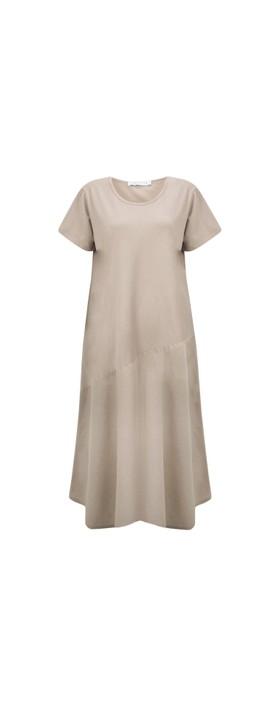 Amazing Woman Brina Jersey Dress Fango