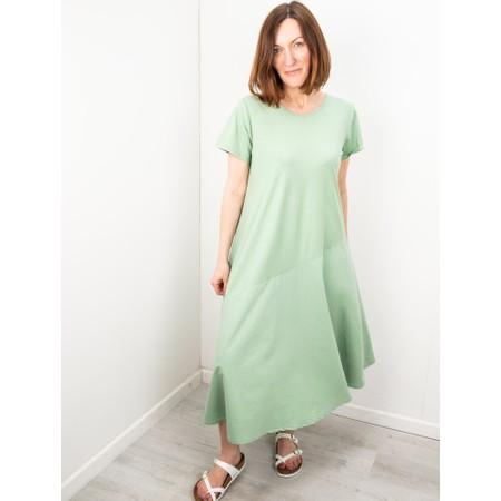 Amazing Woman Brina Jersey Dress - Green